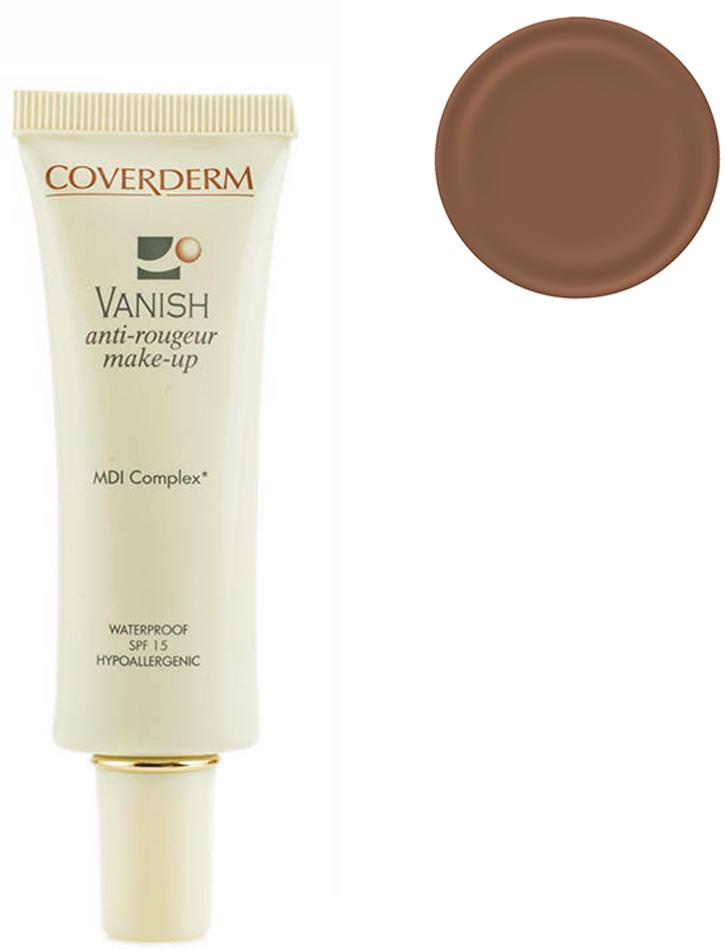 Coverderm Vanish Make-up Тональный крем для кожи с куперозом и покраснениями Colorceuticals Тон №6 SPF 15, 30млC1035.62 в 1 – уход и макияж в течение дня! Тональный крем, который превосходно маскирует все проявления купероза и покраснения кожи, одновременно с этим оказывает лечебное действие для улучшения микроциркуляции и снижения купероза. Обладает обезжиренной, водостойкой формулой. Благодаря легкой текстуре прекрасно впитывается, придает коже бархатистость. Входящие в состав крема MDI комплекс и фукоидан укрепляют сосудистую стенку и уменьшают признаки купероза и покраснений на коже. Витамин Е и изофланы оказывают дополнительный антивозрастной эффект, крем успокаивает и смягчает кожу. SPF 15 уменьшает агрессивное воздействие ультрафиолетовых лучей, повреждающих мелкие капилляры кожи.