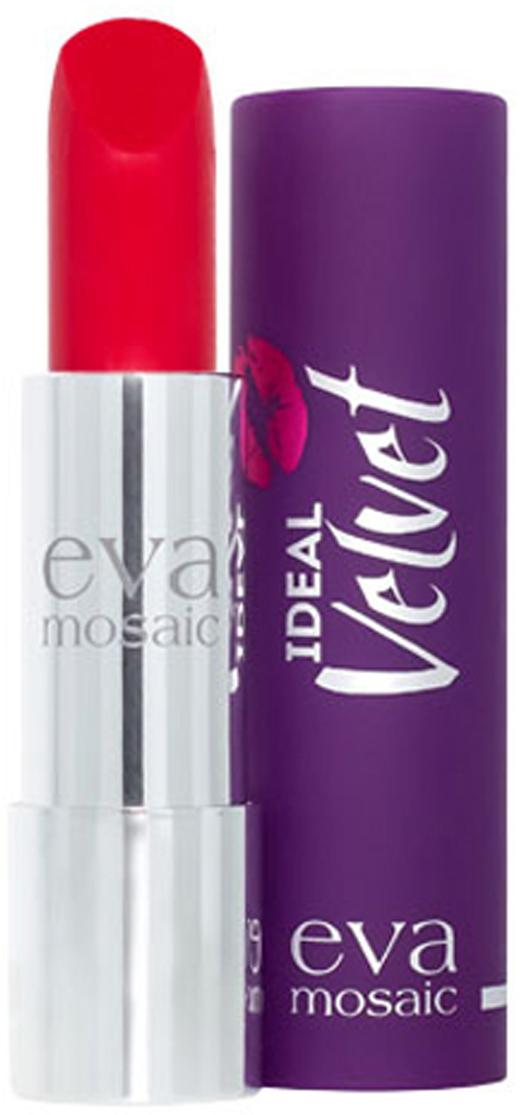 Eva Mosaic Губная помада Ideal Velvet матовая, 4,3 г, 07821981Матовая с высоким содержанием пигмента формула помады подарит вашим губам интенсивный цвет. Превосходно наносится, оставляя тонкое равномерное устойчивое покрытие. Входящие в состав витамины E и F смягчают и увлажняют нежную кожу губ в течение всего дня. Не содержит силикона. Помаду можно наносить самостоятельно или в сочетании с контурным карандашом. Для наилучшего результата рекомендуется наносить на предварительно увлажненную кожу губ.Какая губная помада лучше. Статья OZON Гид