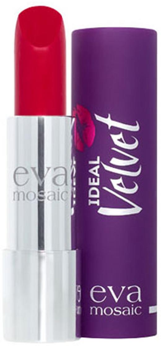 Eva Mosaic Губная помада Ideal Velvet матовая, 4,3 г, 08821982Матовая с высоким содержанием пигмента формула помады подарит вашим губам интенсивный цвет. Превосходно наносится, оставляя тонкое равномерное устойчивое покрытие. Входящие в состав витамины E и F смягчают и увлажняют нежную кожу губ в течение всего дня. Не содержит силикона. Помаду можно наносить самостоятельно или в сочетании с контурным карандашом. Для наилучшего результата рекомендуется наносить на предварительно увлажненную кожу губ.Какая губная помада лучше. Статья OZON Гид