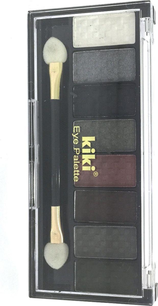 Kiki Тени для век Eye Palette 804, 6.88 гр33390Восемь гармоничных оттенков в одном наборе позволяют создать самый разнообразный макияж глаз. Исключительно нежная и богатая формула теней KIKI EYE PALETTE позволяет с легкостью придать вашим векам устойчивый насыщенный оттенок с бесподобным блеском. Высокое содержание перламутра в тенях обеспечивает яркий блеск и сияние.