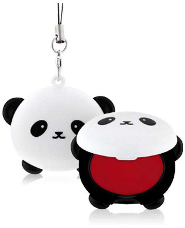 TonyMoly Бальзам для губ Pandas Dream Pocket Lip Balm, 3,8 грLM04011900Невероятно милый аксессуар, который при помощи специальной петельки можно прикрепить к сумочке или телефону, очень похожий на брелок – оттеночный бальзам для губ. Средство позволяет в любое время увлажнить кожу губ, устранить сухость и шелушения, а также подарить губам красивый и сочный розовый оттенок. В составе бальзама сок бамбука, который увлажняет и освежает кожу; экстракт граната – мощный омолаживающий компонент, питает, смягчает и разглаживает кожу, делает ее более упругой, а также деликатно отшелушивает омертвевшие клетки. Срок годности: 30 месяцев.