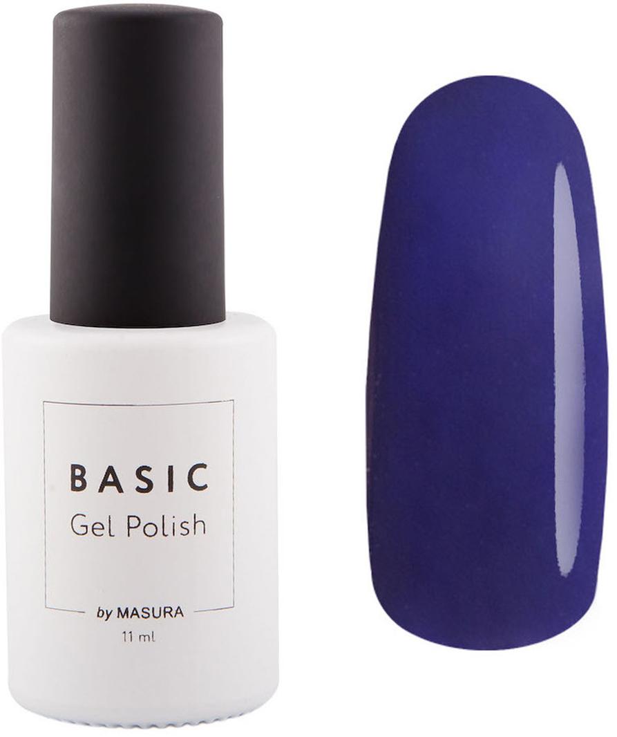 Masura Гель-лак BASIC Черная Смородина, 11 млУТ00000396черно-смородиновый цвет с синим подтоном, плотныйКак ухаживать за ногтями: советы эксперта. Статья OZON Гид