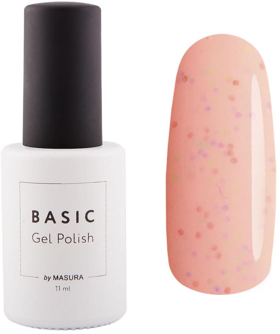 Masura Гель-лак BASIC Розовые Веснушки, 11 мл31912пастельно-розовое креле с миксом ярких частицКак ухаживать за ногтями: советы эксперта. Статья OZON Гид