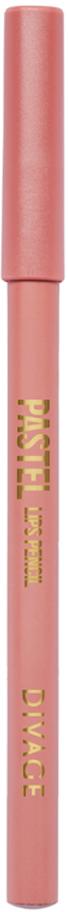 Divage Карандаш Для Губ Pastel - Тон № 2203015585-055Мягкий карандаш подчеркивает контур губ, делая их форму более выразительной. Карандаш имеет удобную форму треугольника, благодаря которой не скатывается с плоской поверхности. Содержит смягчающие масла жожоба, соевых бобов, экстракт алоэ вера, витамины Е. Масло жожоба и соевых бобов придаёт контуру кондиционирующее и смягчающее свойства. Оно регулирует водно-липидный баланс, предохраняя кожу губ от сухости. Открой для себя сочетание глубокого цвета и деликатного ухода с карандашами PASTEL от DIVAGE!