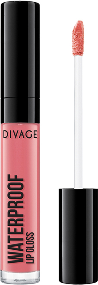 Divage Блеск Для Губ Водостойкий Waterproof Lip Gloss - Тон № 02 long wear waterproof lip gloss and lip oil