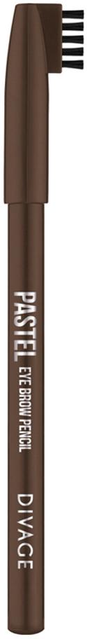 Divage Карандаш Для Бровей Pastel - Тон № 1106013629Карандаш плотной текстуры идеально подходит для графичного моделирования формы бровей. Воздушный пудровый контур придаёт бровям совершенную форму и гармоничный объём. Обеспечивает эффект натуральных, ровных и густых бровей. Эффект достигается не только благодаря насыщенному составу, но и маленькой расчёске, которая используется до и после применения карандаша. Она предварительно подготавливает брови для использования карандаша, а затем облегчает его равномерное распределение для придания брови формы и ровного цвета. Касто ровое масло и растительные воски, содержащиеся в составе карандаша, бережно ухаживают за нежной кожей века. Подари образу максимальную естественность с карандашами для бровей PASTEL от DIVAGE!Как создать идеальные брови: пошаговая инструкция. Статья OZON Гид