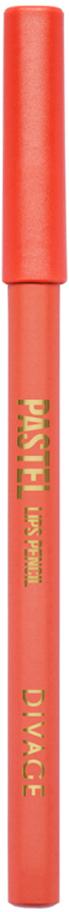 Divage Карандаш Для Губ Pastel - Тон № 2207013551Мягкий карандаш подчеркивает контур губ, делая их форму более выразительной. Карандаш имеет удобную форму треугольника, благодаря которой не скатывается с плоской поверхности. Содержит смягчающие масла жожоба, соевых бобов, экстракт алоэ вера, витамины Е. Масло жожоба и соевых бобов придаёт контуру кондиционирующее и смягчающее свойства. Оно регулирует водно-липидный баланс, предохраняя кожу губ от сухости. Открой для себя сочетание глубокого цвета и деликатного ухода с карандашами PASTEL от DIVAGE!