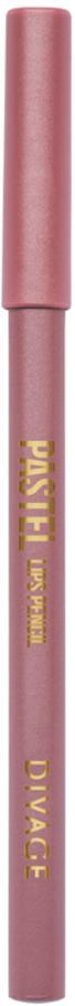 Divage Карандаш Для Губ Pastel - Тон № 2211013599Мягкий карандаш подчеркивает контур губ, делая их форму более выразительной. Карандаш имеет удобную форму треугольника, благодаря которой не скатывается с плоской поверхности. Содержит смягчающие масла жожоба, соевых бобов, экстракт алоэ вера, витамины Е. Масло жожоба и соевых бобов придаёт контуру кондиционирующее и смягчающее свойства. Оно регулирует водно-липидный баланс, предохраняя кожу губ от сухости. Открой для себя сочетание глубокого цвета и деликатного ухода с карандашами PASTEL от DIVAGE!