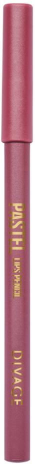 Divage Карандаш Для Губ Pastel - Тон № 220418138-13Мягкий карандаш подчеркивает контур губ, делая их форму более выразительной. Карандаш имеет удобную форму треугольника, благодаря которой не скатывается с плоской поверхности. Содержит смягчающие масла жожоба, соевых бобов, экстракт алоэ вера, витамины Е. Масло жожоба и соевых бобов придаёт контуру кондиционирующее и смягчающее свойства. Оно регулирует водно-липидный баланс, предохраняя кожу губ от сухости. Открой для себя сочетание глубокого цвета и деликатного ухода с карандашами PASTEL от DIVAGE!