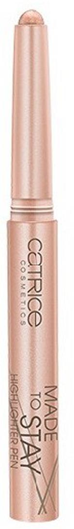Catrice Тени для век, хайлайтер Made To Stay Highlighter Pen 040 золотистый 1,64 гр catrice контур для глаз kohl kajal 040 white белый 1 1гр