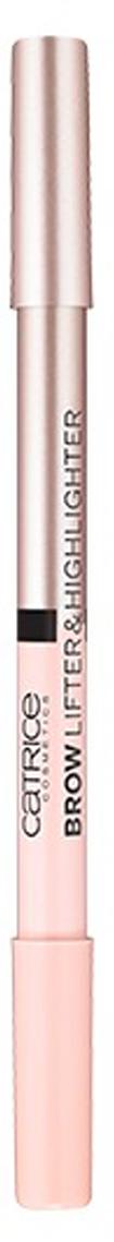 Catrice Хайлайтер в карандаше 2 в1 Brow Lifter & Highlighter 2в1 4,2 гр56263Идеальное средство два-в-одном для макияжа глаз и бровей. Карандаш объединяет в себе два хайлайтера с различными эффектами: матовый для визуальной коррекции бровей и шиммерный для расставления световых акцентов.