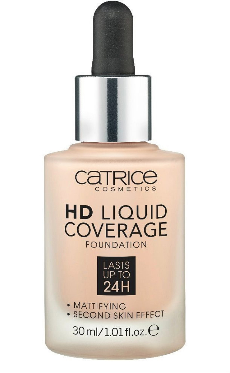 Catrice Основа тональная HD Liquid Coverage Foundation 010 Light Beige 30 мл