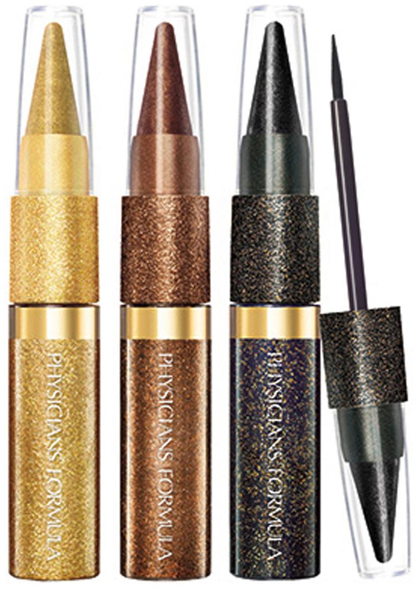 Physicians Formula Подводка с блестками и карандаш-тени набор Shimmer Strips Kajal+Liquid Liner Trio - Glam Nude Eyes 11 млNL290-82821Многофункциональный набор для макияжа глаз - 3 кайала и 3 жидкие подводки в компактных карандашах – для вашего удобства и потрясающего образа! У вас на руках 6 базовых оттенков, в блестящей и глянцевой текстурах. Вы можете использовать каждый продукт отдельно, или же смешивать и создавать на глазах фантазийные эффекты.Подводка и кайал располагаются на разных концах карандаша, экономя ваше время при нанесении макияжа и не занимая много места в косметичке.Жидкая подводка: экстремально блестящая, с утонченным аппликатором, она обеспечивает четкую и выразительную линию. Кайал: насыщенная высоко-пигментированная формула и мягкая текстура обеспечивают подчеркнутый взгляд, подведенный по внутренней кромке века. Продукты обладают экстремальной стойкостью, не стираются и не отпечатываются на веках.