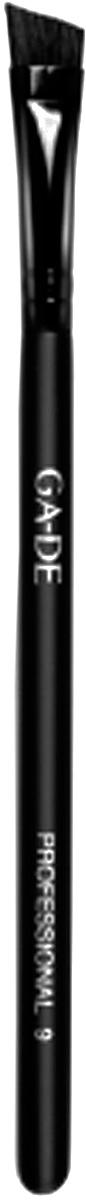 GA-DE Кисть для век № 9110700000С помощью скошенной кисти для бровей можно растушевать карандаш для бровей, или мягко скорректировать брови с помощью теней, выполнить четкий контур на подвижном веке.