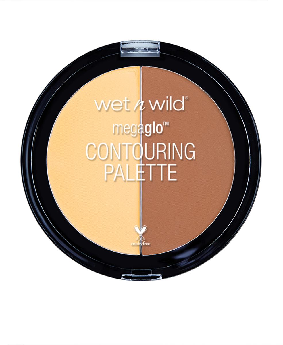Wet n Wild Набор Для Контуринга Megaglo Contouring Palette Contour E7501 caramel toffee29102606022Cкульптурирующая прессованная-пудра визуально корректирует рельеф лица для мгновенного преобразования. Прессованная текстура способствует легкому нанесению без дополнительных инструментов, обеспечивая длительный и стойкий результат.