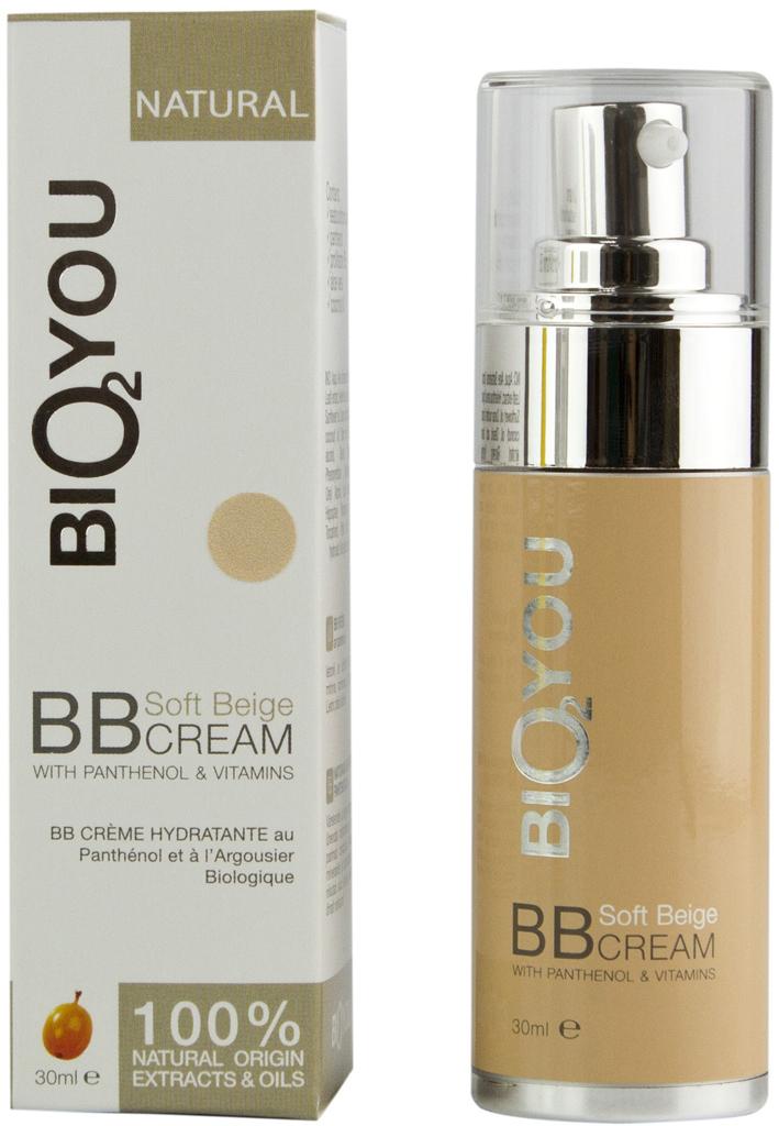 BIO2You Natural Skin Car Натуральный BB крем с пантенолом и витаминами. Нежно-бежевый, 30 мл16620Bыравнивает тон кожи, увлажняeт, успокаиваeт и питаeт кожу.Увлажняет, смягчает, питает, восстанавливает и разглаживает кожу и обеспечивает отличную антиоксидантную защиту.