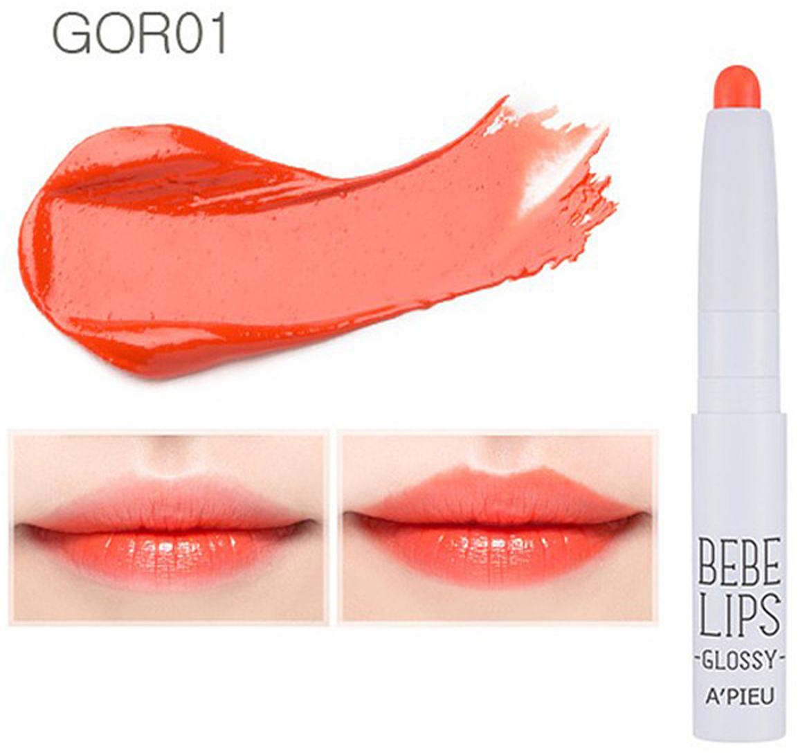 APieu Губная помада (Gor01), 1 г8806185716932Мини-губная помадаКакая губная помада лучше. Статья OZON Гид