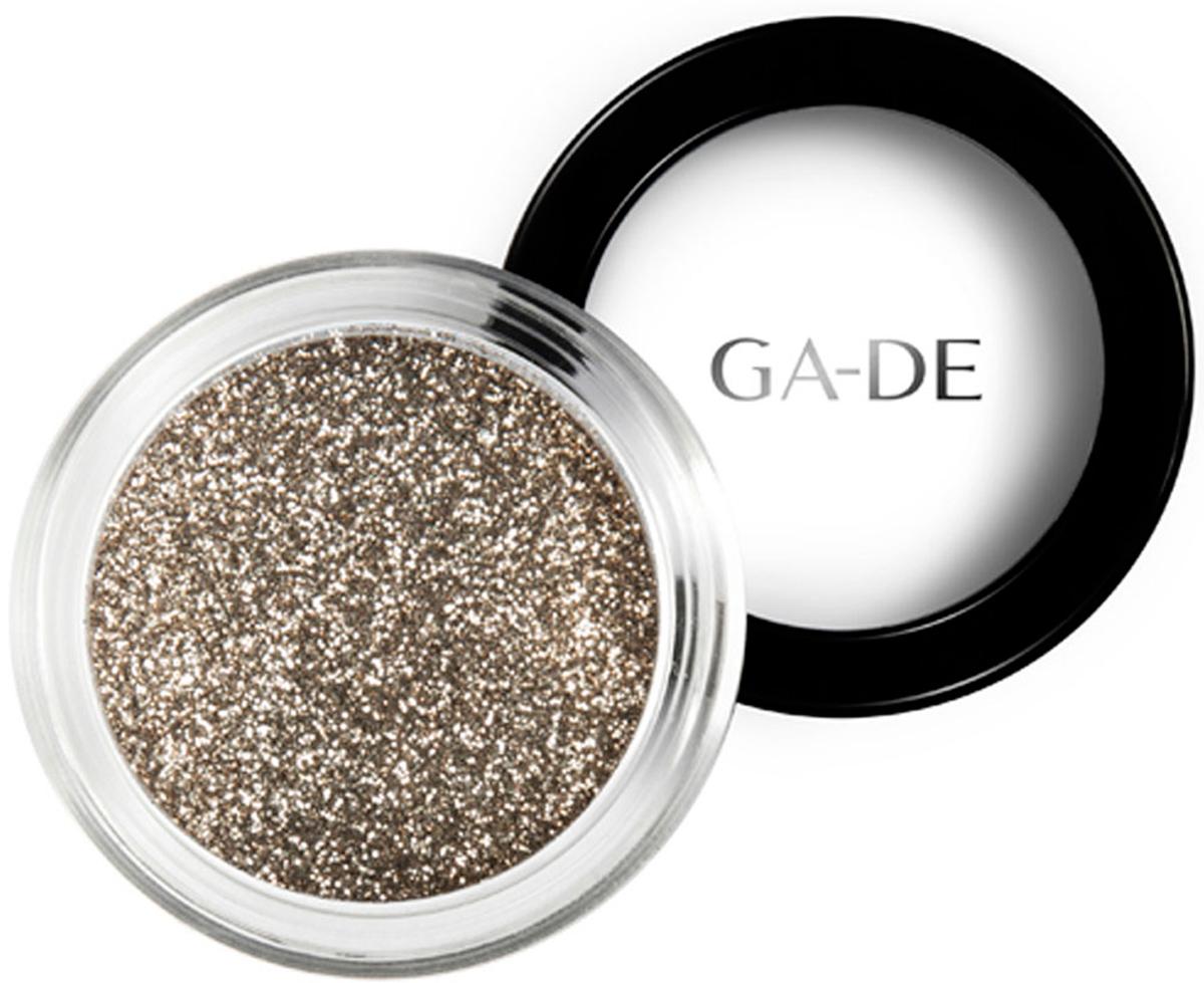 GA-DE Универсальный блеск Stardust №03 Golden Sand, 4 г134200003GA-DE Stardust - это инновационный косметический глиттер, сверкающие частицы которого отражают свет, создавая восхитительный многомерный эффект. Блестки можно использовать как по отдельности, так и смешивая оттенки друг с другом, для создания своего собственного уникального сочетания и несравненного эффекта звездного свечения.