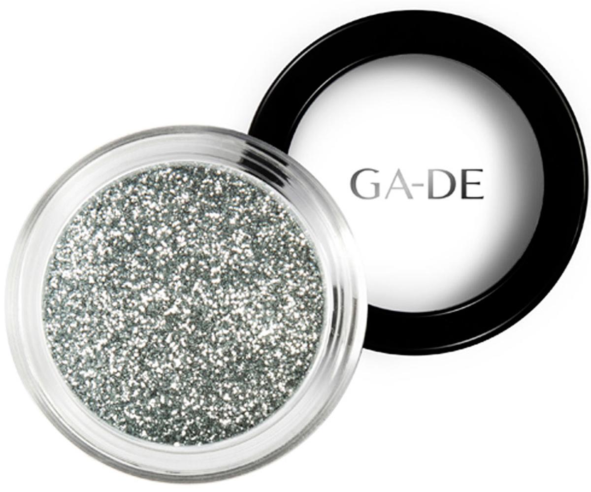 GA-DE Универсальный блеск Stardust №05 Bright Silver, 4 г134200005GA-DE Stardust - это инновационный косметический глиттер, сверкающие частицы которого отражают свет, создавая восхитительный многомерный эффект. Блестки можно использовать как по отдельности, так и смешивая оттенки друг с другом, для создания своего собственного уникального сочетания и несравненного эффекта звездного свечения.