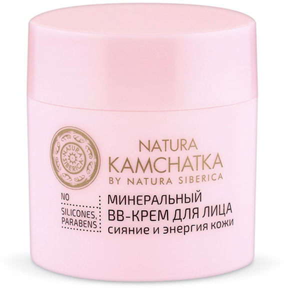 Natura Siberica Kamchatka Минеральный ВВ-крем для лица Сияние и энергия кожи, 50 мл086-9-37296Невесомая текстура ВВ-крема моментально увлажняет и тонизирует кожу, скрывая мелкие несовершенства.