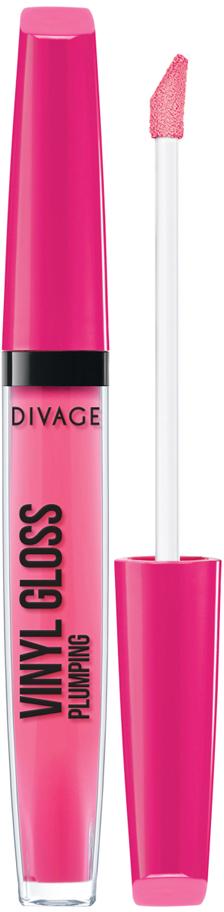 DIVAGE Блеск для губ VINYL GLOSS, тон № 3204, 3 мл блеск для губ divage vinyl gloss transparent lip liner 23