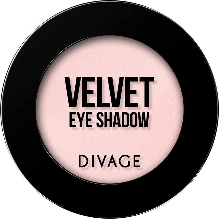 DIVAGE Матовые одноцветные тени для век VELVET , тон № 7306,  гр.