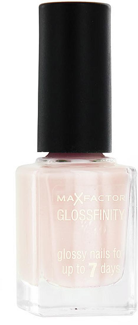Лак для ногтей Max Factor Glossfinity, тон №30, 11 мл81344550Лак для ногтей Max Factor Glossfinity - неотъемлемый элемент безупречного внешнего вида и прекрасный завершающий штрих вашего роскошного образа.Этот лак создает на ногтях суперглянцевое покрытие, долго сохраняющее отличный вид, словно лак был нанесен только что. Текстура лака Glossfinity имеет оптимальную плотность для удобного и равномерного нанесения. Безупречно держится до семи дней.Лаки для ногтей от Max Factor не содержат компонентов, нарушающих целостность ногтевой пластины, не вызывают нежелательной пигментации и сухости ногтей. Характеристики:Тон: №30 (sugar pink). Объем: 11 мл. Производитель: Франция. Артикул:81344550.Товар сертифицирован.Как ухаживать за ногтями: советы эксперта. Статья OZON Гид
