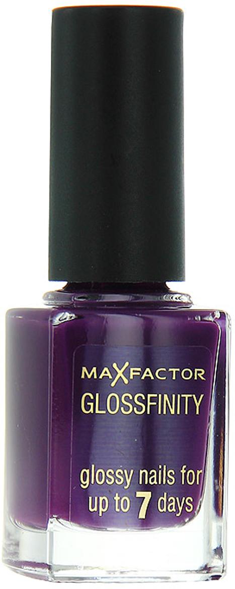 Лак для ногтей Max Factor Glossfinity, тон №150, 11 мл81344575Лак для ногтей Max Factor Glossfinity - неотъемлемый элемент безупречного внешнего вида и прекрасный завершающий штрих вашего роскошного образа.Этот лак создает на ногтях суперглянцевое покрытие, долго сохраняющее отличный вид, словно лак был нанесен только что. Текстура лака Glossfinity имеет оптимальную плотность для удобного и равномерного нанесения. Безупречно держится до семи дней.Лаки для ногтей от Max Factor не содержат компонентов, нарушающих целостность ногтевой пластины, не вызывают нежелательной пигментации и сухости ногтей. Характеристики:Тон: №150 (amethyst). Объем: 11 мл. Производитель: Франция. Артикул:81344575.Товар сертифицирован.Как ухаживать за ногтями: советы эксперта. Статья OZON Гид