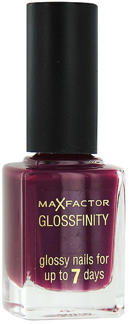 Лак для ногтей Max Factor Glossfinity, тон №160, 11 мл81344577Яркий блеск- яркий стиль. Лак для ногтей MaxFactorGlossfinity создает эффектное яркое покрытие, которое держится до 7дней. Специально разработанная формула для поразительно стойкого идеального покрытия. Теперь можно очень просто сделать профессиональный маникюр самостоятельно. Заяви о себе: идеально гладкие, безупречные блестящие ногти с лаком MaxFactorGlossfinity. Специально разработанная формула для поразительно стойкого идеального покрытия. Теперь можно очень просто сделать профессиональный маникюр самостоятельно.Сначала ногти следует обезжирить, протерев их средством для снятия лака. Нанеси основу под лак. После этого проведи кисточкой с лаком по центру ногтя, а затем по бокам. Оставь немного места по бокам, чтобы ногти казались длиннее. Подожди 10минут, затем нанеси второй слой. Нанеси лак на кончики ногтей и нижнюю часть, чтобы закрепить маникюр. Используй закрепляющее покрытие, чтобы лак держался дольше.Как ухаживать за ногтями: советы эксперта. Статья OZON Гид
