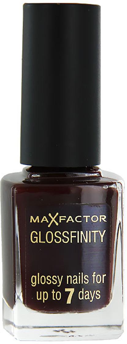 Лак для ногтей Max Factor Glossfinity, тон №185, 11 мл81344583Лак для ногтей Max Factor Glossfinity - неотъемлемый элемент безупречного внешнего вида и прекрасный завершающий штрих вашего роскошного образа.Этот лак создает на ногтях суперглянцевое покрытие, долго сохраняющее отличный вид, словно лак был нанесен только что. Текстура лака Glossfinity имеет оптимальную плотность для удобного и равномерного нанесения. Безупречно держится до семи дней.Лаки для ногтей от Max Factor не содержат компонентов, нарушающих целостность ногтевой пластины, не вызывают нежелательной пигментации и сухости ногтей.Характеристики:Тон: №185 (ruby fruit). Объем: 11 мл. Производитель: Франция. Артикул:81344583.Товар сертифицирован.Как ухаживать за ногтями: советы эксперта. Статья OZON Гид