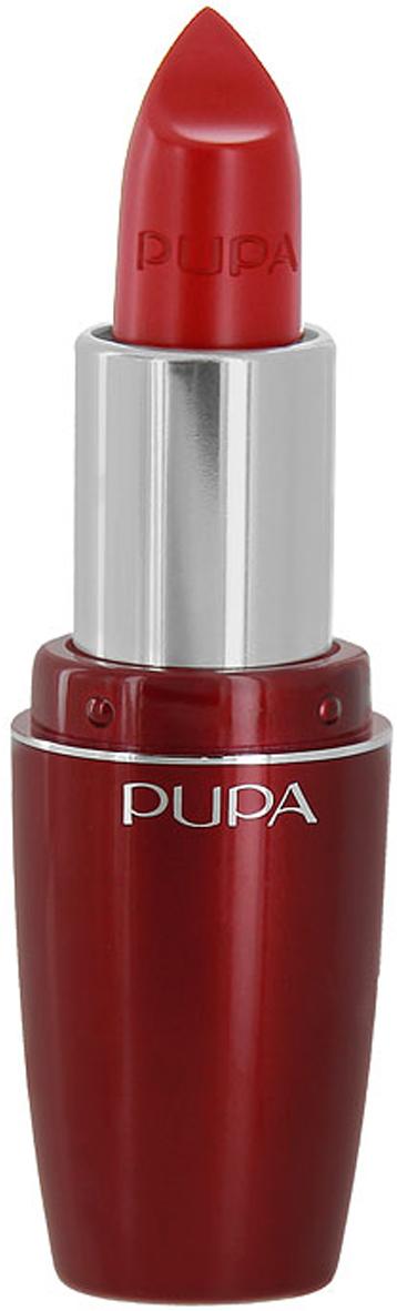 PUPA Губная помада Pupa Volume, тон 403 яркий-красный , 3.5 мл00235403Помада Pupa Volume разработана как сочетание эффективного средства по уходу, способствующего увеличению объема губ и идеального средства для макияжа, благодаря которым работа над красотой будет полностью завершена.Сразу же насыщенный цвет, четко подчеркнутые и необычайно блестящие губы.С самых первых дней применения Pupa Volume способствует увеличению объема и увлажненности губ. Увеличение на 5% уже через 10 минут после первого использования и на 12% после 7 дней использования..Дерматологически протестирована. Характеристики: Объем: 3,5 мл. Тон: №403 (ярко-красный). Размер упаковки: 3,6 см x 2,5 см x 9,3 см. Изготовитель: Италия. Артикул:00235403. Товар сертифицирован. Pupa - итальянский бренд, принадлежащий компании Micys. Компания была основана в 1970-х годах в Милане и стала любимым детищем семьи Гатти.Pupa - это декоративная косметика для тех, кто готов экспериментировать, создавать новые образы и менять свой стиль в поисках новых проявлений своей индивидуальности. Яркие цвета Pupa воплощают в себе особенное видение красоты как многогранного сочетания чувственности и эпатажа, нежности и дерзости, изысканности и простоты.Pupa не забывает и о здоровье, прежде всего - здоровье кожи. Составы косметики Pupa тщательно тестируются на безопасность для кожи и постоянно совершенствуются по мере появления новых научных разработок.Какая губная помада лучше. Статья OZON Гид