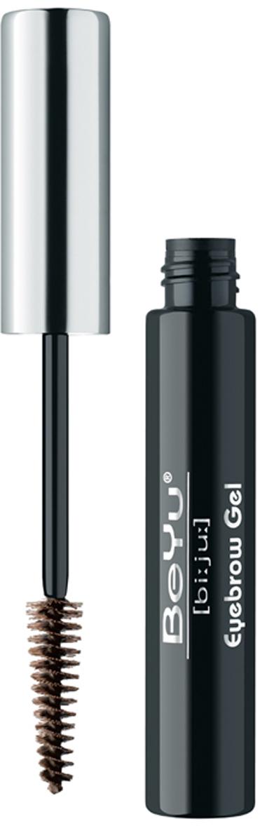 BeYu Гель для бровей, тон №1, цвет: черный, 6 мл косметические карандаши beyu карандаш для бровей 6 1 2г