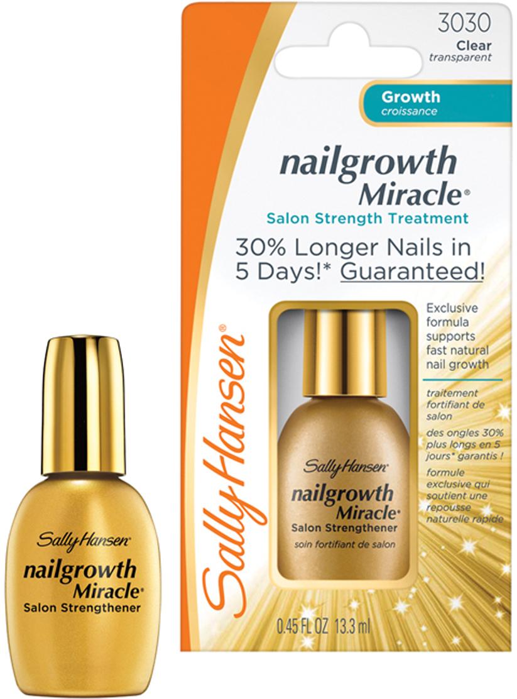 Sally Hansen Средство для ногтей Nailgrowth Miracle, для активизации роста, 13,3 мл sally hansen triple strong
