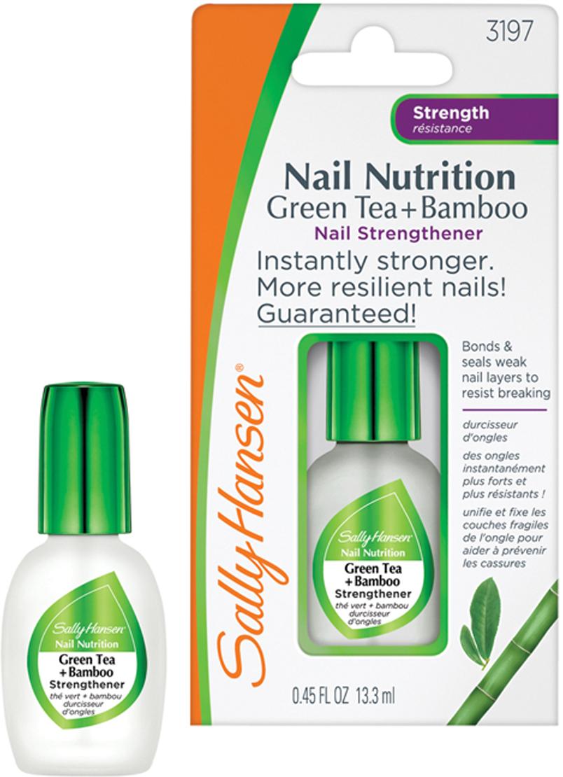 """Sally Hansen Средство для укрепления слабых хрупких ногтей 2 в 1: база и верхнее покрытие """"Nail Nutrition"""", 13,3 мл"""