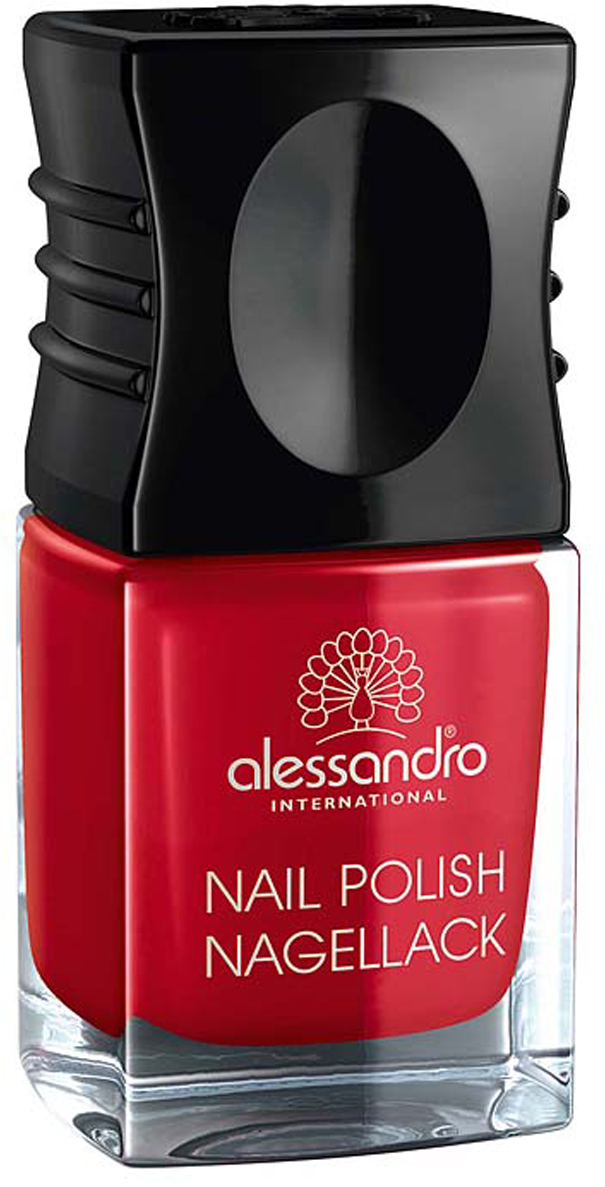 Alessandro Лак для ногтей  Nagellack. Классический красный , 10 мл