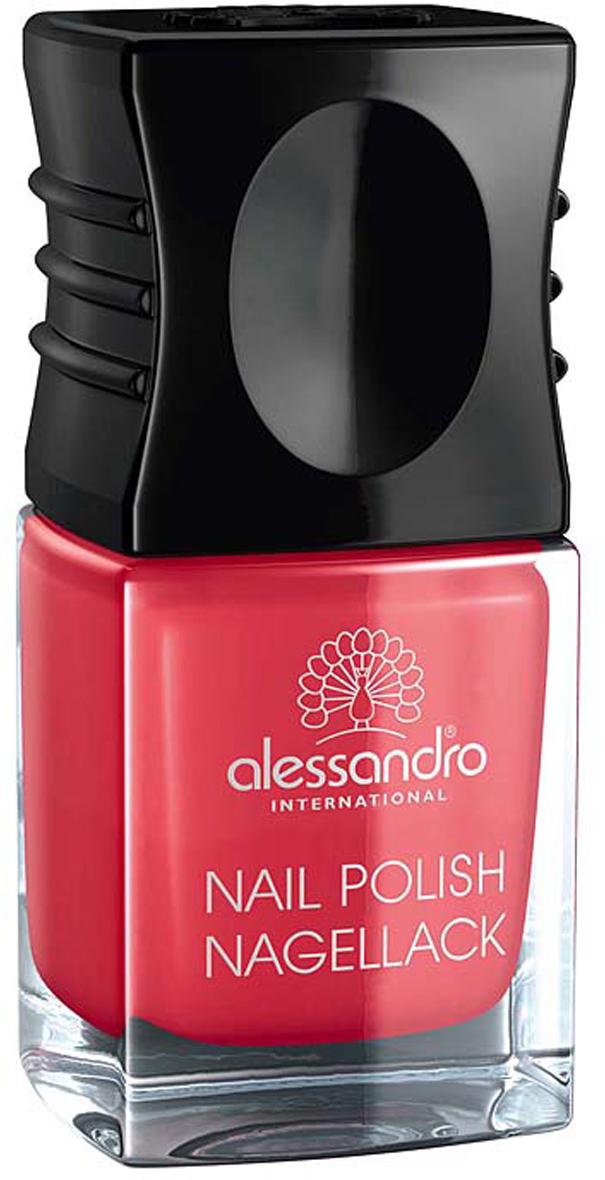 """Alessandro Лак для ногтей """"Nagellack. Неоновая роза"""", 10 мл"""