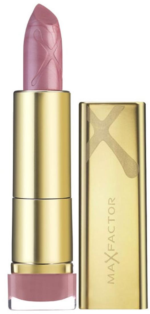 Max Factor Помада для губ Colour Elixir, тон №610 (Angel Pink), 3,5 г040133003Великолепный цвет в одно мгновение, более гладкие, мягкие губы по сравнению с ненакрашенными губами- такой эффект помады от MaxFactor ColourElixir сохраняется в течение длительного времени. Роскошный и великолепный цвет на гладких, красивых губах! Формула Elixir на 60% состоит из смягчающих кожу компонентов, восстановителей и антиоксидантов, включая витамин E, зрительно преображает губы и делает их мягче всего за 7 дней. После нанесения ColourElixir помада активно увлажняет и смягчает губы. На 60% состоит из смягчающих компонентов, восстановителей и антиоксидантов, включая витамин E. Дерматологически тестировано.Нанеси помаду на кисточку для помады. Накрась с помощью кисточки губы. Промокни губы салфеткой и нанеси еще один слой. Чтобы помада держалась на губах дольше, нанеси между слоями полупрозрачную пудру.Какая губная помада лучше. Статья OZON Гид