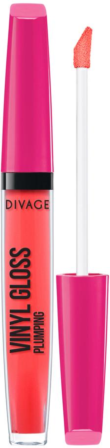 DIVAGE Блеск для губ VINYL GLOSS, тон № 3220, 3 мл топы divage gloss up объем 12 мл