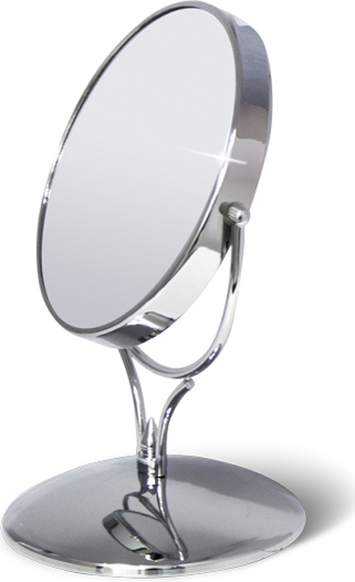 Зеркало двустороннее на подставке Tatkraft Aphrodite, диаметр 15 см крючок двойной tatkraft mega lock на вакуумном шурупе