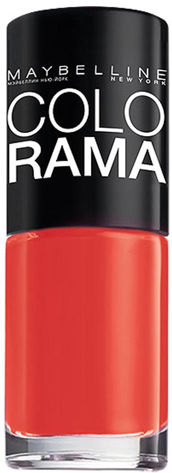 Maybelline New York Лак для ногтей Colorama, оттенок 352, Закат в Марокко, 7 млB2200703Самая широкая палитра оттенков новых лаков Колорама. Яркие модные цвета с подиума.Новая формула лака Колорама обеспечивает стойкое покрытие и создает еще более дерзкий, насыщенный цвет, который не тускнеет.Усовершенствованная кисточка для более удобного и ровного нанесения, современная упаковка.Лак для ногтей Колорама не содержит формальдегида, дибутилфталата и толуола.Как ухаживать за ногтями: советы эксперта. Статья OZON Гид
