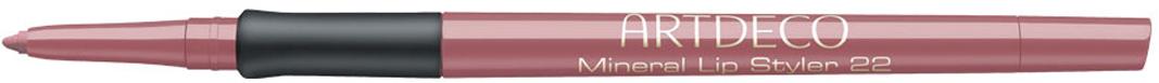 Artdeco Карандаш для губ Mineral, тон №22, 0,4 г336.22Насыщенный цвет и чрезвычайно стойкая формула.Встроенная точилка. Удобный фиксатор для идеально ровного нанесения. Не содержит консерванты и минеральные масла. Характеристики:Вес: 0,4 г. Тон: №22. Артикул: 336.22. Производитель: Германия. Товар сертифицирован.