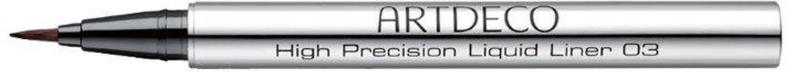 Artdeco Подводка для век High Precision Liquid Liner, тон №03, 0,55 мл240.03Жидкая подводка для глаз Artdeco High Precision Liquid Liner с кисточкой из тончайших волокон, созданной на основе высоких технологий, наносится необыкновенно легко и точно! Устойчивая формула прекрасно адаптирована к любым климатическим условиям. Artdeco High Precision Liquid Liner - это новое слово в искусстве точных линий! Вы больше не захотите компромиссов!Профессиональный совет: положите кисть к основанию верхних ресниц от середины глаза и легким движение проведите линию в сторону виска. Самым кончиком кисти проведите тонкую линию от внутреннего угла глаза к середине века. Расширьте наружную линию до нужной вам величины. Характеристики:Объем: 0,55 мл. Тон: №03. Производитель: Германия. Артикул: 240.03. Товар сертифицирован.