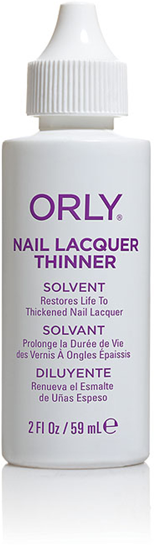 Orly Жидкость для разбавления лака Nail Lacquer Thinner, 59 мл orly лак 972 pink noise