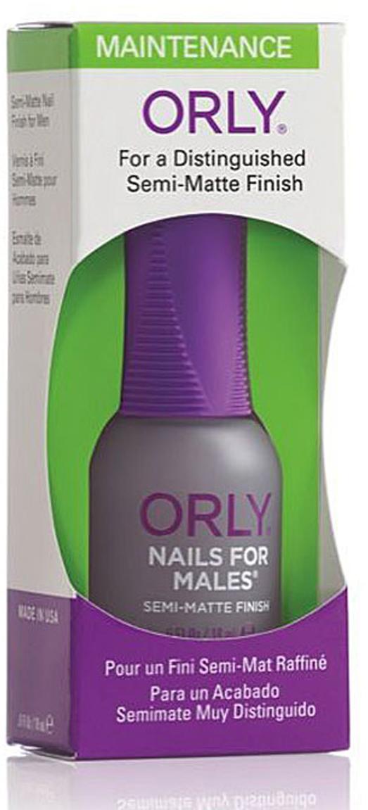 Orly Покрытие для ногтей мужчин Nails For Males, 18 мл24240Уникальное матовое покрытие Orly Nails For Males для ногтей мужчин, которое совершенно натурально смотрится на ногтях. Защищает ногти и подчеркивает их безукоризненность.Способ применения: нанесите 1-2 слоя покрытия на обезжиренную ногтевую пластину. Характеристики:Объем: 18 мл. Артикул: 44240. Производитель: США. Товар сертифицирован.Состав: этилацетат, бутилацетат, SDА-40В, нитроцеллюлоза, сополимеры, изопропил, трифенил фосфат, триметил-пентанил диизобутират, кварц, ацетобутират целлюлозы, камфара, стеаралкониум бентонит, стеаралкониум гекторит, диацетоновый спирт, лимонная кислота, бензофенон-1, диметикон, пигменты.Как ухаживать за ногтями: советы эксперта. Статья OZON Гид