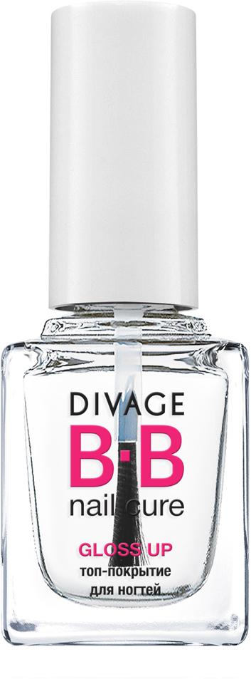 DIVAGE BB NAIL CURE Топ-покрытие для ногтей «GLOSS UP», 12 мл