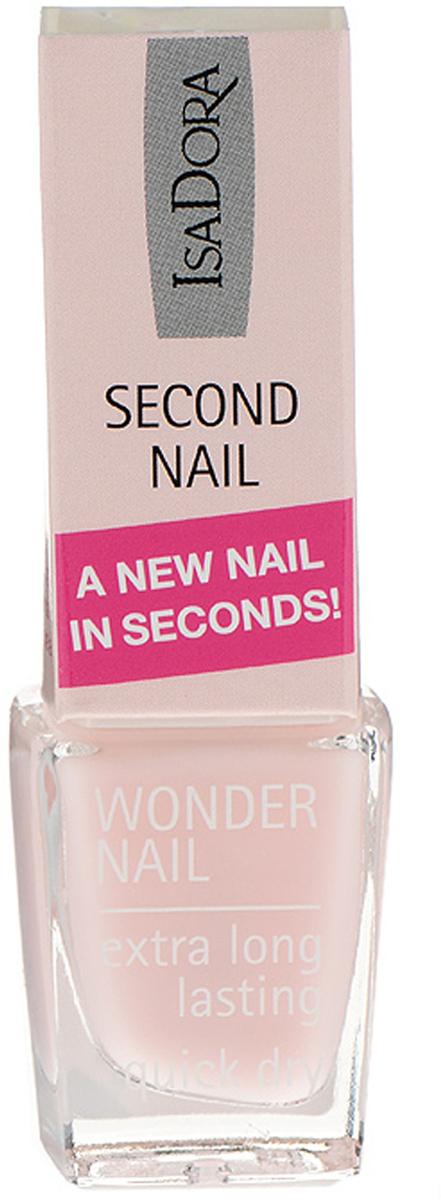 Isa Dora Средство для ногтей Wonder Nail - Second Nail, укрепляющее, тон №696 Pink, 6 мл