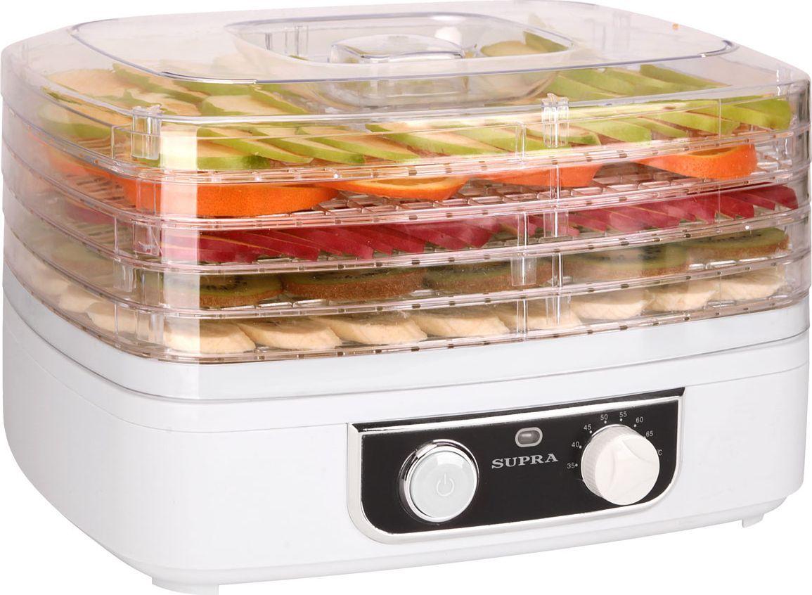 Supra DFS-527, White электросушилка для овощей - Техника для хранения, консервации и заготовок