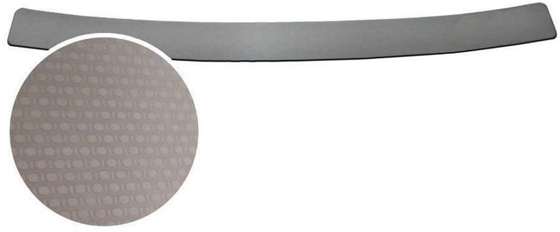 Накладка на задний бампер Rival, для Nissan Qashqai 2014-NB.4106.1Накладка на задний бампер Rival защищает лакокрасочное покрытие от механических повреждений и создает индивидуальный внешний вид автомобиля.- Использование высококачественной итальянской нержавеющей стали AISI 304 с декоративным рельефом.- Надежная фиксация на автомобиле с помощью фирменного скотча 3М на акриловой основе: влагостойкий и морозостойкий.- Рельефный рисунок накладки придает автомобилю индивидуальный внешний вид.- Идеально повторяют геометрию бампера автомобиля.