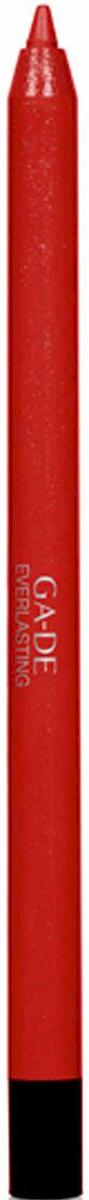GA-DE Карандаш для губ Everlasting, тон № 93, 0,5 г122500093Плотная силиконовая текстура. Матовые и глянцевые оттенки. Устойчивая формула. Аргановое масло защищает кожу губ и обеспечивает мягкое и комфортное нанесение. Силиконовый карандаш корректирует контур губ. Он проводит чуть матовую линию, заполняет собой морщинки и не дает помаде или блеску растекаться. Хорошо подходят для использования летом и во время отпуска, так как не будет растекаться под воздействием солнца и жары.