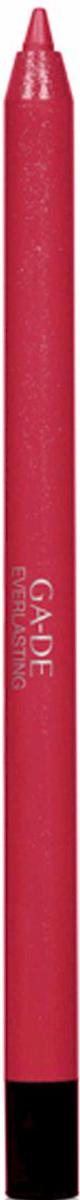 GA-DE Карандаш для губ Everlasting, тон № 94, 0,5 г122500094Плотная силиконовая текстура. Матовые и глянцевые оттенки. Устойчивая формула. Аргановое масло защищает кожу губ и обеспечивает мягкое и комфортное нанесение. Силиконовый карандаш корректирует контур губ. Он проводит чуть матовую линию, заполняет собой морщинки и не дает помаде или блеску растекаться. Хорошо подходят для использования летом и во время отпуска, так как не будет растекаться под воздействием солнца и жары.